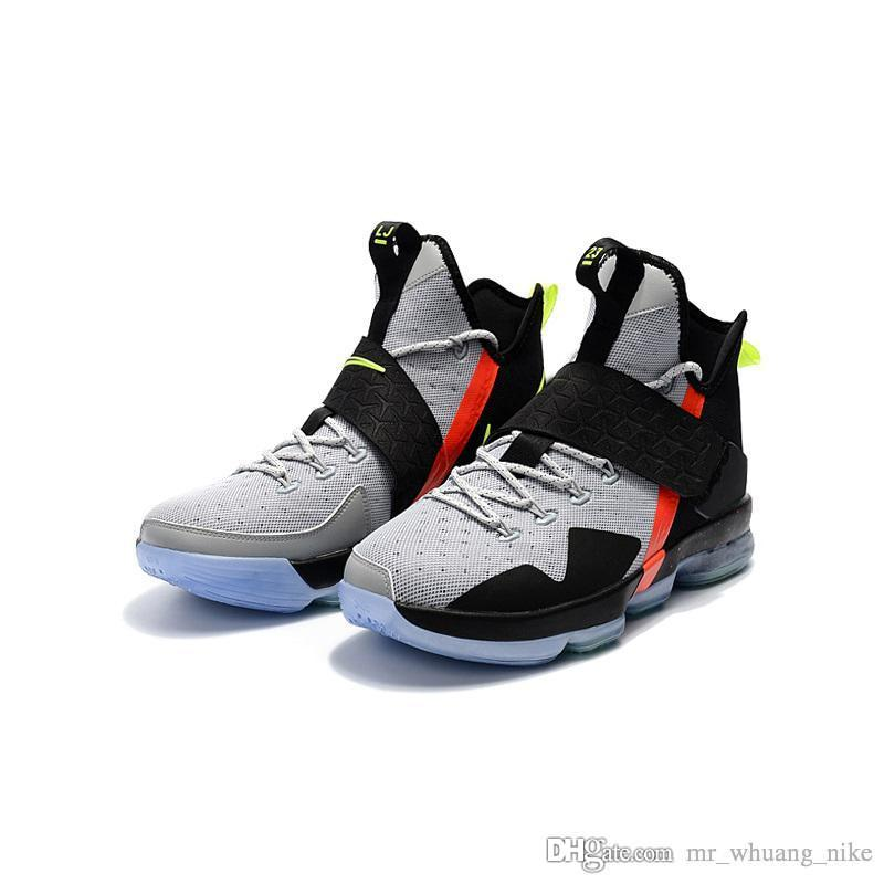 low cost 5cc80 349cf Cheap Mens lebron 14 basketball shoes for sale boys girls youth kids  outdoor sports sneakers with box
