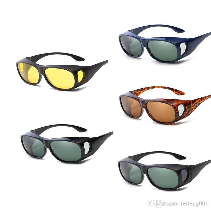 7bd7b016b2 Nuevo Espejo Polarizado Deportes Al Aire Libre Gafas De Sol Polarizadas  Espejos De Alta Calidad Miopía Espejos De Ciclismo Gafas De Sol Equipos De  Ciclismo ...
