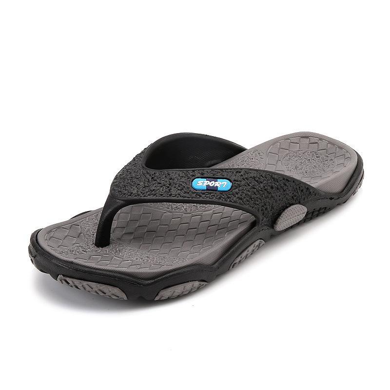 601c5d03a9c Men Beach Flip Flops 2019 Summer Flat Shoes Man Slip On Sandals Comfortable  Male Casual Slides Mens Indoor Outside Slippers