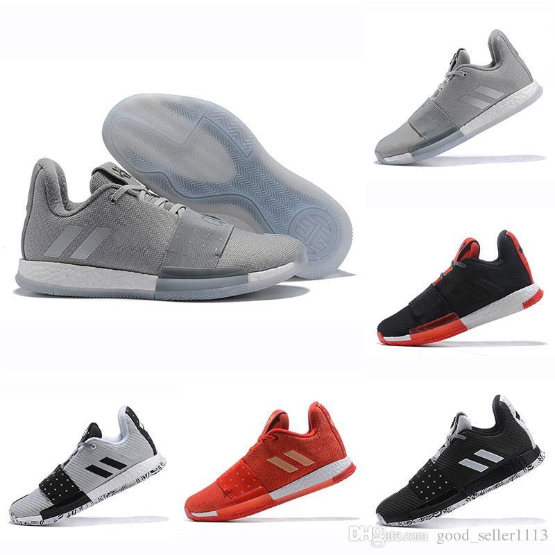 e4595731dcda AAA+Quality Mens Harden Vol. 3 MVP Basketball Shoes Men Weaving ...