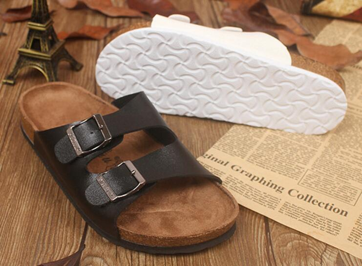 fba43ab106 New Summer Hot Sell Women Flat Cork Slippers Sandals Flip Flops Shoes Beach  Shoes size 35-44