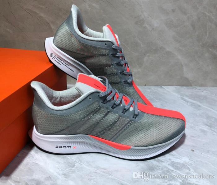 new style 2dae0 77368 Acheter 2019 Nouveau Pegasus 35 Turbo Hommes Chaussures De Course Femmes  Mode Athlétique Sport Baskets Baskets Croix Randonnée Jogging Marche  Chaussures De ...