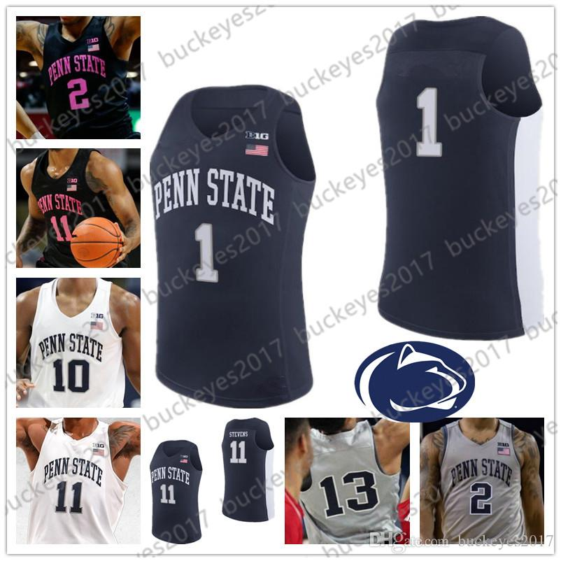 Men's Clothing Penn State Nittany Lions Sleeveless Navy Blue Jersey Mens Large Excellent