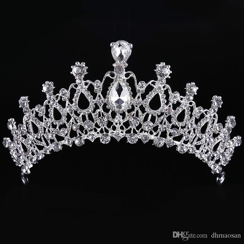 Luxurious Women Crowns High-End Wedding Tiaras Bride Trendy Head Hair Jewelry