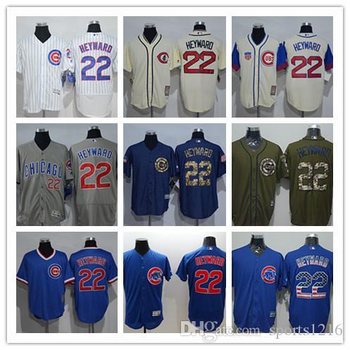 2018 Custom Men S Women Youth Chicago Cubs Jersey  22 Jason Heyward Home  Blue Grey White Kids Cubs Baseball Jerseys From Sports1216 fe6b553df