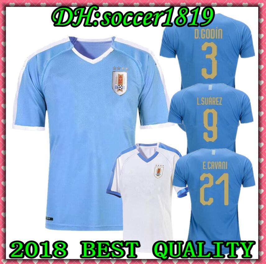 best loved d818e 7a495 2019 20 Copa America Uruguay Soccer Jersey 19 20 L.suarez E.cavani D.GODIN  Futbol Camisa National Team Football Camisetas Shirt Kit Maillot