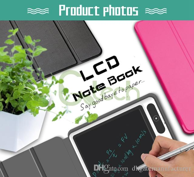 Best Selling 10 1 inch Hardcover Business Edition Smart Kids Erasable write  lcd pad