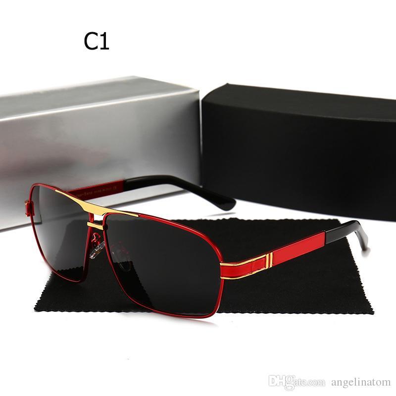 55cbd587b28b NEW Sunglasses Men Polarized 2019 Mercedes Luxury Italy Brand Designer Sun  Glasses For Male Gafas Oculos Vuarnet Sunglasses Bifocal Sunglasses From ...