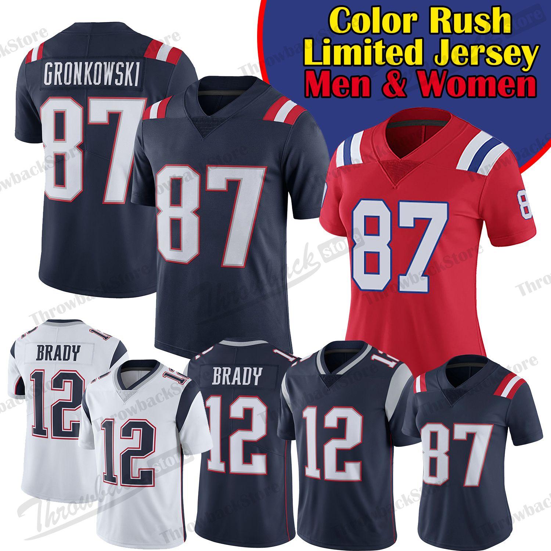 designer fashion 45242 1dee7 store tom brady limited color rush jersey d6b28 5dac7