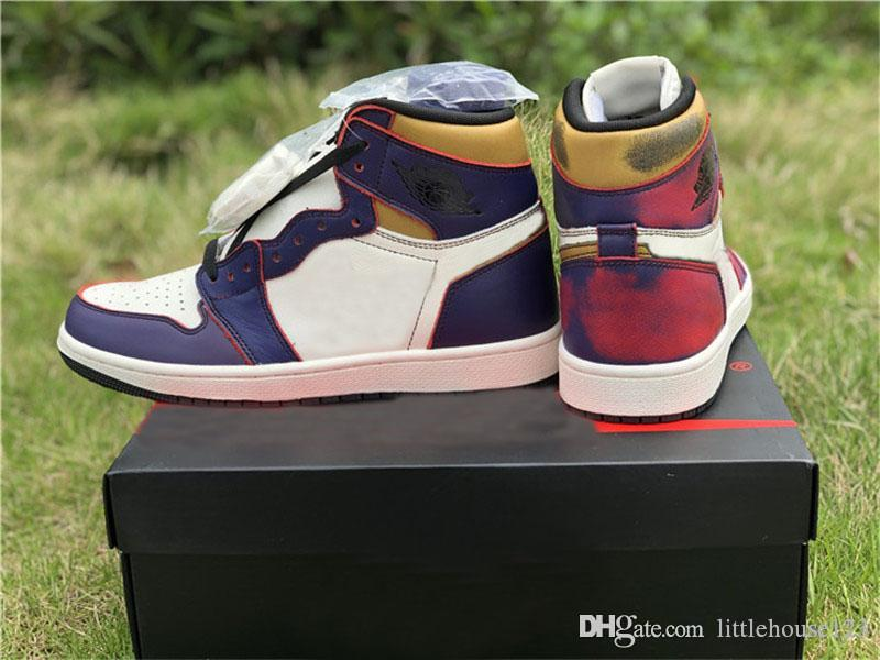 Purple Cd6578 High Og Court University 507 Defiant Bone Gold Man Shoes Lakers Sb Black Basketball New 2019 1 Authentic Sail Sneakers Light oedCrxBW
