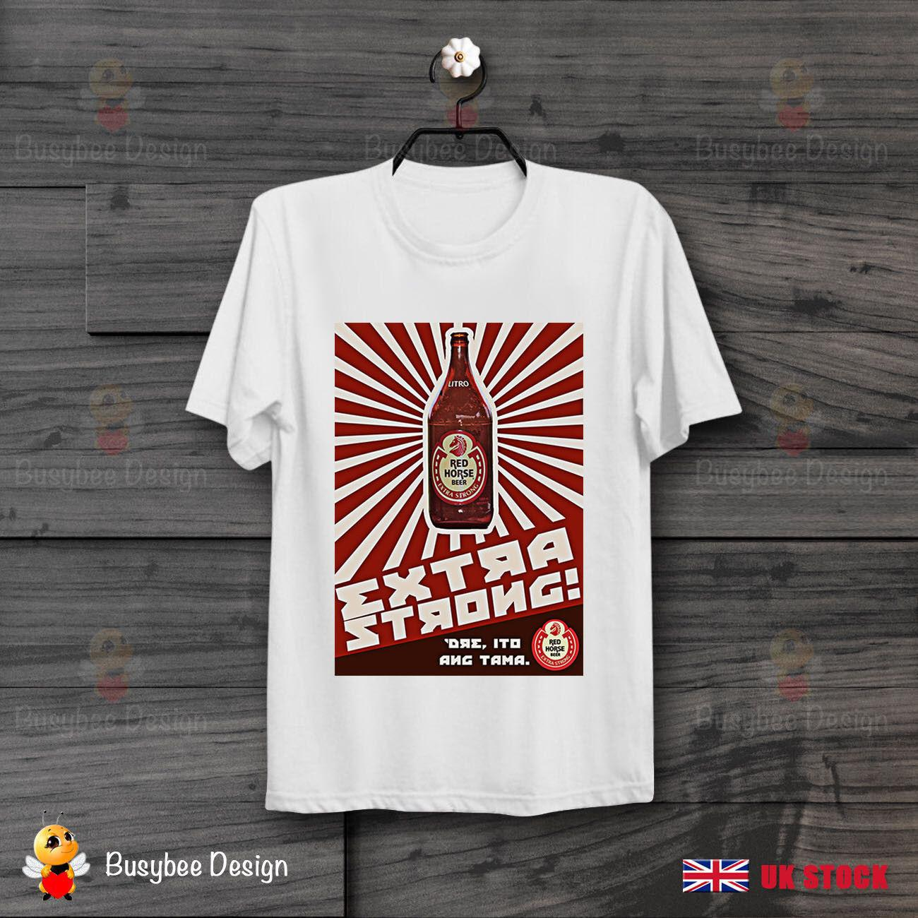 eb4ea8d4d Extra Strong Red Horse Beer Logo Philippines Manila Cool Unisex T Shirt  B344 Best T Shirt Site T Shirt Making Companies From Integritybusiness59