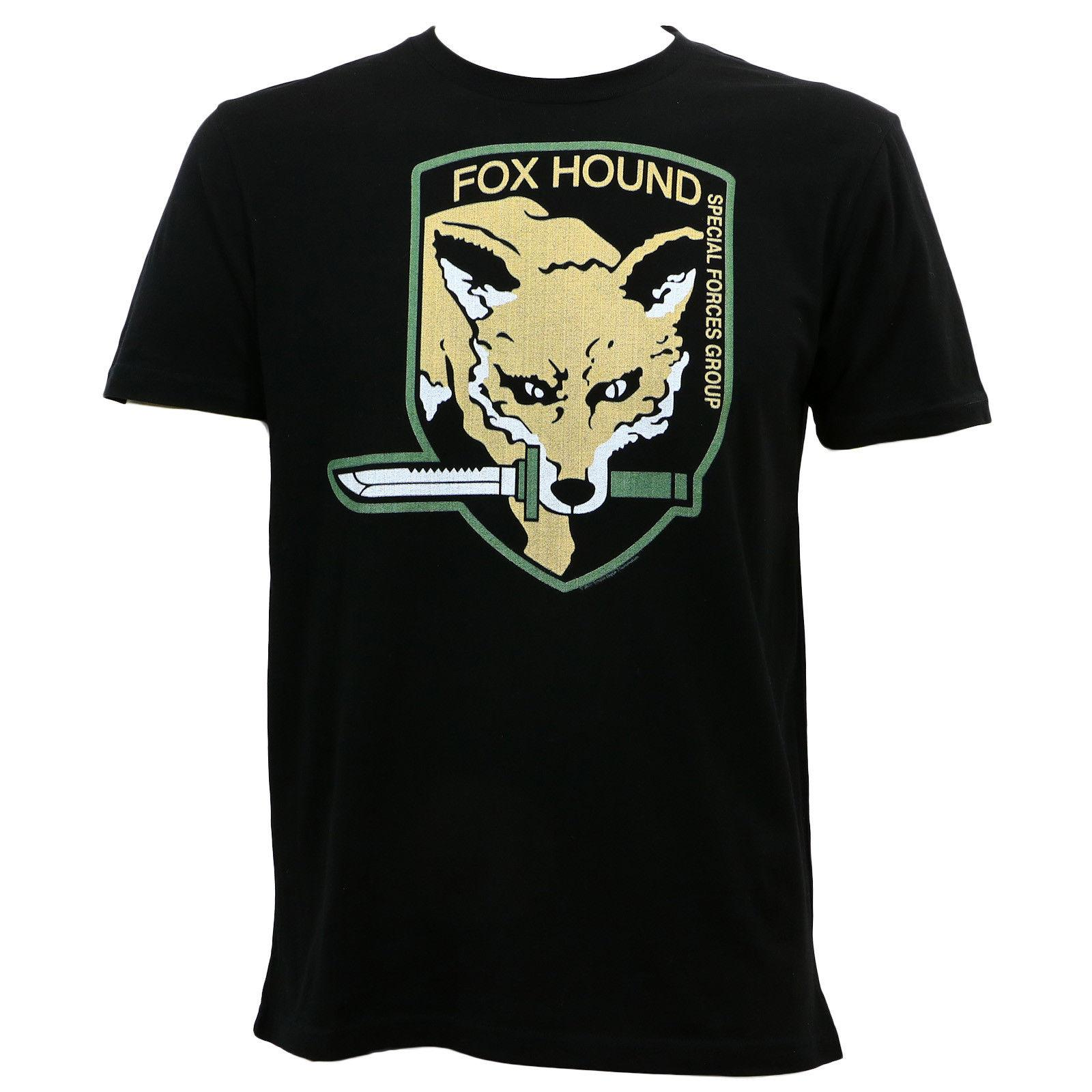 Authentic METAL GEAR RISING Fox Hound Special Forces T-Shirt S M L XL XXL NEW Funny free shipping Unisex Casual Tshirt top