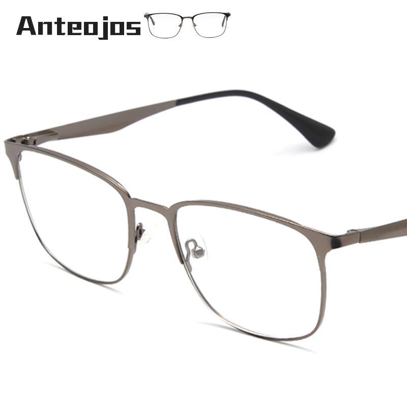 7371abc1556 ANTEOJOS Women Men s Eyeglass Frame 2019 Luxury Brand Spring Hinge ...