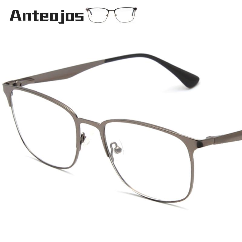 1a9dc2b6b2 ANTEOJOS Women Men s Eyeglass Frame 2019 Luxury Brand Spring Hinge ...