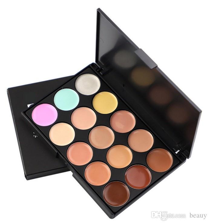 2019 Professional Concealers Makeup Cream Care Camouflage paletas contour palette Cosmetic Facial Foundation Nautral