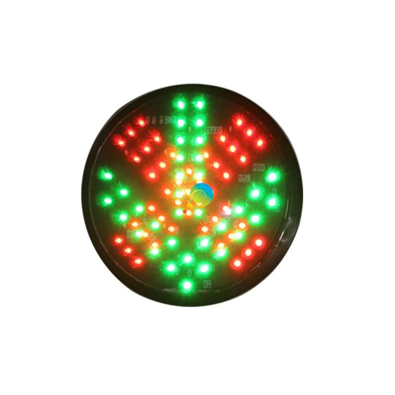 125mm Signal Light Mini Traffic Signal Led Traffic Light For School Teaching Roadway Safety