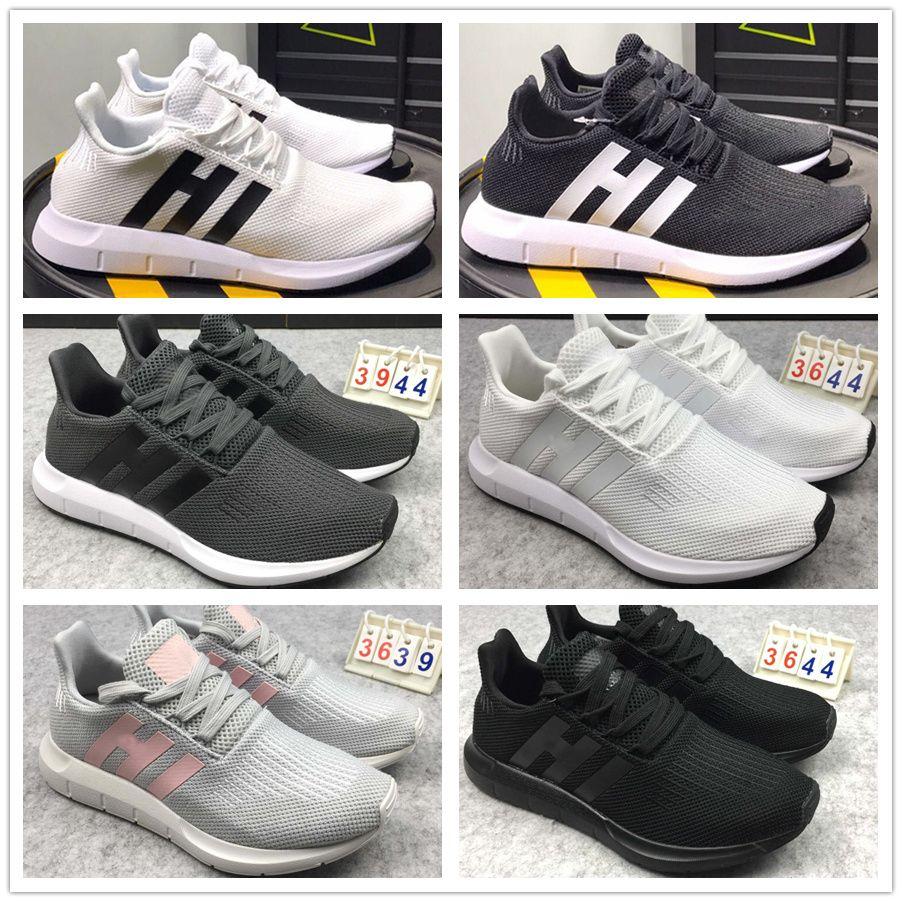 7fbc4c47cbf2 2018 Tubular Shadow Knit CQ2118 Runner Again Triple Black White Red Pk 3M  Primeknit Men Women Running Shoes Sports Casual Shoes SZ36 44 Ladies Running  Shoes ...