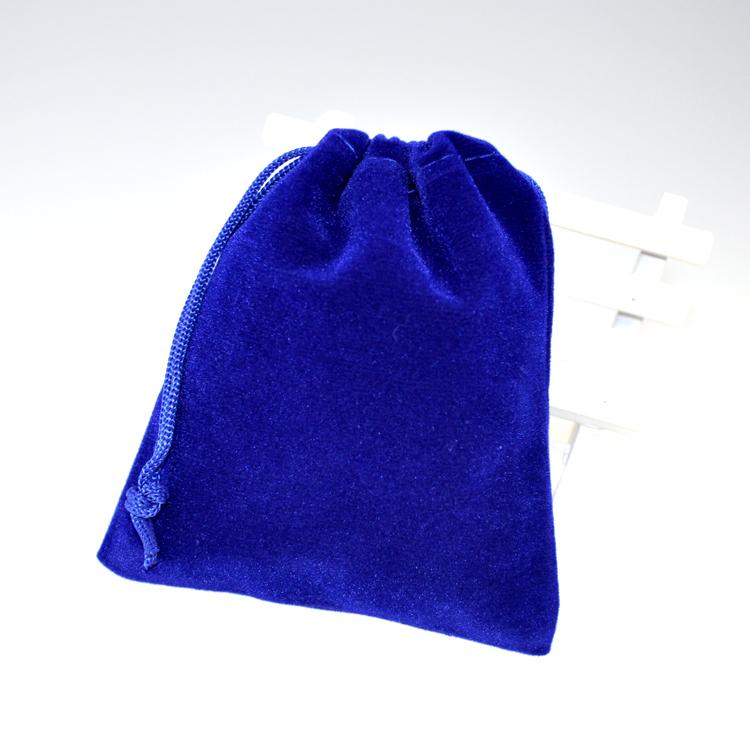 Royal Blue Velvet Bag 9x12cm Small Wedding Candy Gifts Jewelry Packaging Bag Cute Velvet Drawstring Gift Bag Pouches