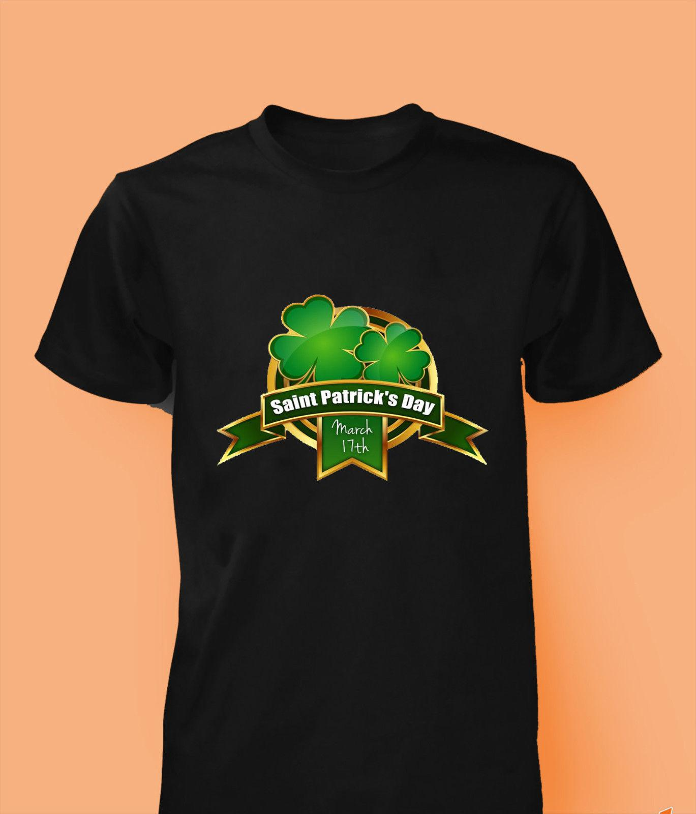4d143a26 St Patricks Day T Shirt Ireland FLAG Shamrock Paddys Day Men Women Kids  Funny Unisex Casual Tshirt Top Long Sleeve Tee Shirts Design Your Own T  Shirts From ...