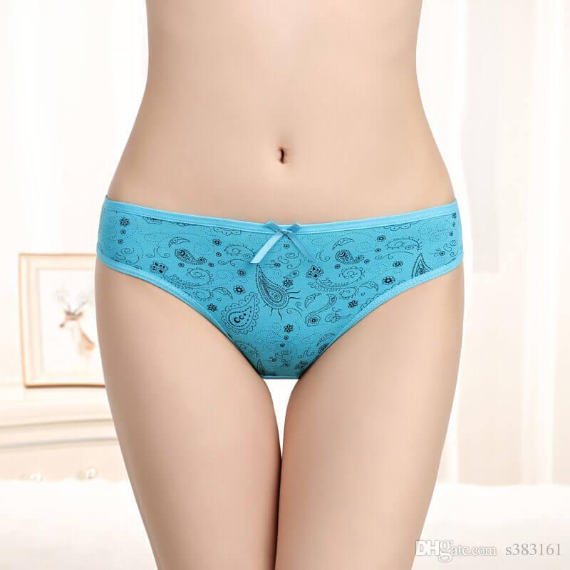 ea60f86b0 2019 Yun Meng Ni Cheap Cotton Printed Young Girls Bikini Black Sexy Panties  Girls Underwear Panty Models From S383161