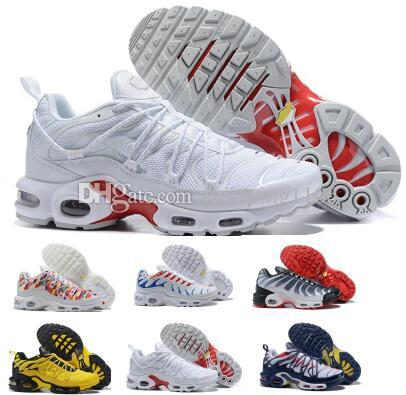 0c3ead9716c4 Plus Tn Se Trainers Running Shoes Sneakers 2019 Tns Triple Red Tartan  Before After NYC Men Man Women Woman Designer Chaussures Sport Shoes Hoka  Running ...