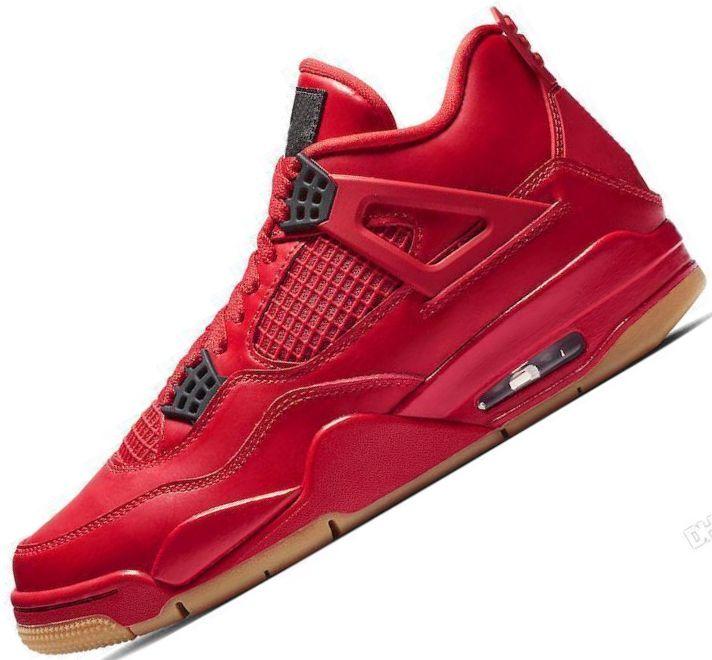 separation shoes 20cd0 ea2b9 Compre Nike Air Jordan Retro Jumpman Tatuaje 4 Individuales Día 4s Calzado  De Baloncesto Para Hombre Dinero Puro Realeza Cemento Blanco Raptors Gato  Negro ...