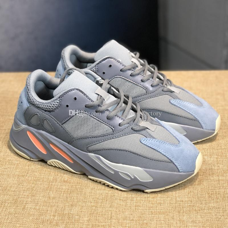f1be74a04 Send Box Kanye West 700 3M Runner Inertia Mauve Shoes Sneaker Designer  Shoes Men Run Shoe Man Woman Boot Mens Sport Shoe Walking Shoes Trail Running  Shoes ...