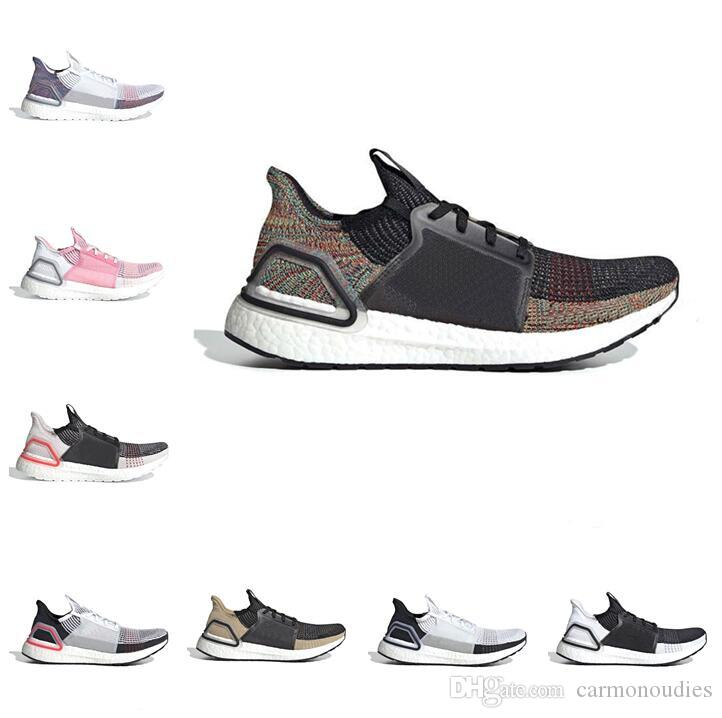 premium selection 8ac0c 1176d 2019 Ultra Boosts 5.0 19 B37704 Mens Laser Red Running Shoes Oreo  ultraboost Uncaged Women Sneakers Trainers Designer Shoes