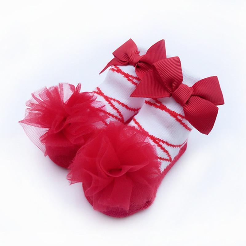 premium selection 48a8c b05de Mode 0-24 Mt Mädchen Socken Baumwolle Weihnachten Kinder Kleidung  Neugeborenen Kinder Prinzessin Günstige Kleidung China Herbst Winter Baby  Socken