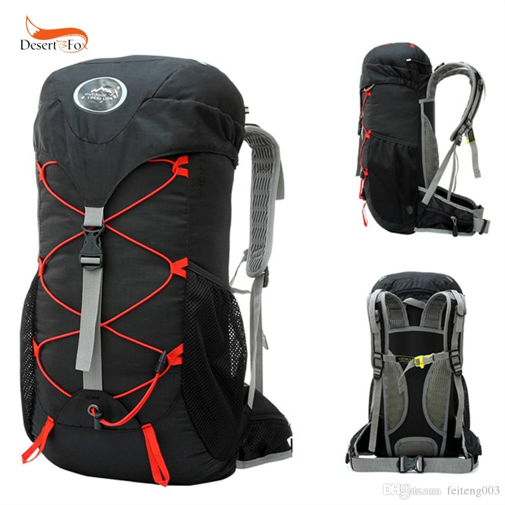 92f589a45d 2019 35L Outdoor Mountaineering Bag Double Shoulder Bag Bulk Camping Hiking  Backpack Waterproof Nylon Fabric Cloth Sport  109113 From Feiteng003