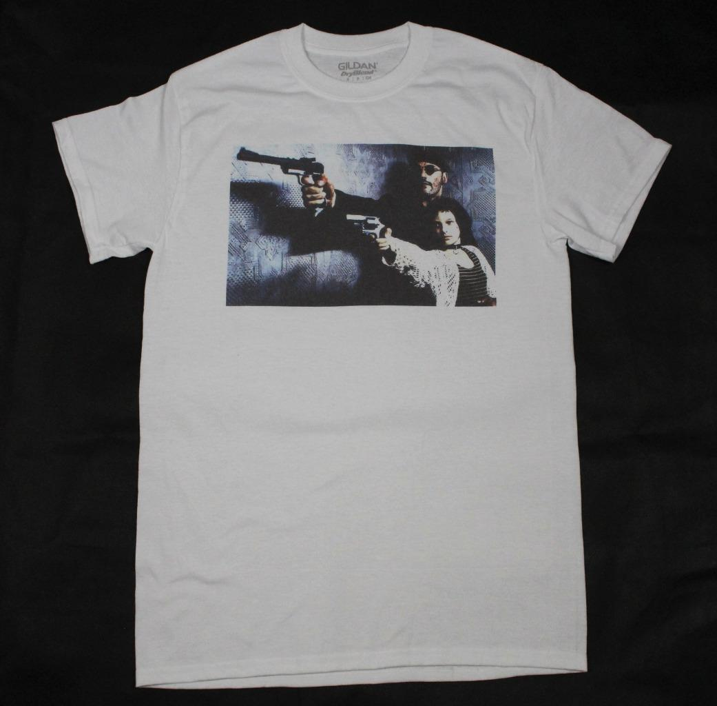 S Luc Camiseta Besson 3xl Gun Blanca Hitman Profesional Mathilda LéonLa WE9YD2IeH