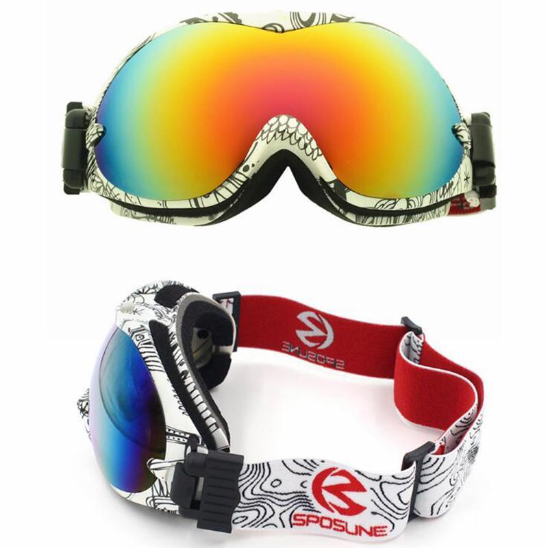 Doble Gafas De Esquí Niño Compre Capa Adulto Uv400 Lentes USMVzp