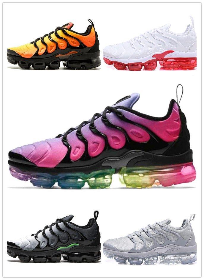 more photos 494fd e67b1 TN Plus Running Shoes BE TRUE Yellow Triple White Black Silver Hyper Violet  Volt Men Women Designer Trainers Sport Sneakers Size 36 45 Sports Shorts  Shoe ...