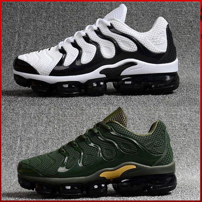 db4f0764b87c39 Großhandel Nike TN Plus Vapormax Air Max Airmax 2018 Neue Beiläufige Schuhe  Freizeit Männer Tn Schuhe Tns Plus Air Mode Lüftung Casual Turnschuhe  Olivrot ...