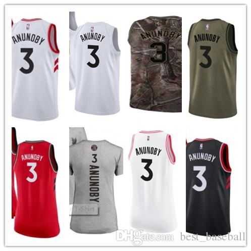 hot sale online 09660 83644 custom 2019 Toronto Raptor Jerseys #3 OG Anunoby Jerseys  men#WOMEN#YOUTH#Men s Baseball Jersey Majestic basketball jersey
