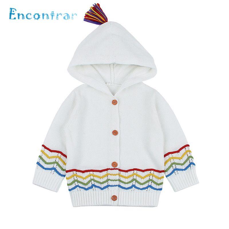 25e608ddd Encontrar Children Striped Hooded Sweater Coat Baby Girls And Boys ...