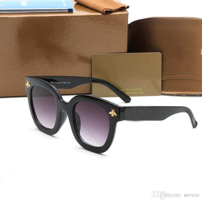 9ef26ff67 0116 Luxury Fashion Sunglasses For Womens Square Frame New Sun ...