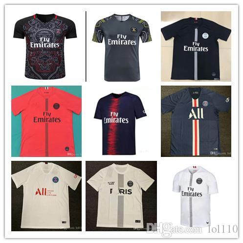 1d9234ff4cb 2019 PSG Paris Saint Germain 2019 2020 MBAPPE Soccer Jersey 19 20 CAVANI  Football Shirt VERRATTI DI MARIA DI MARIA Maillot De Foot Uniforms From  Lol110, ...