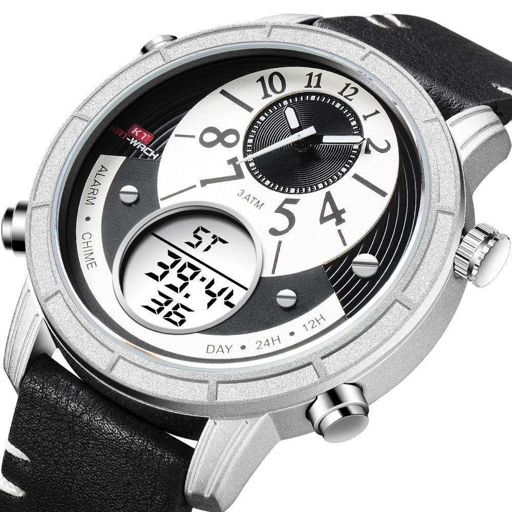 cdc74ec65 KAT-WACH New Men's Outdoor Sports Multifunctional Electronic Watch ...