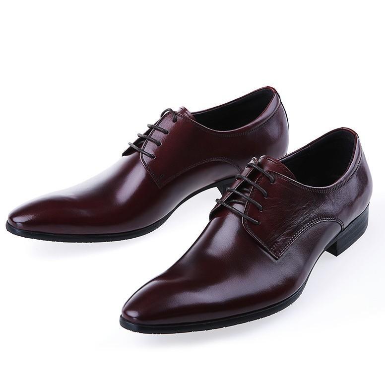 D'affaires Formelles Couleur Homme Chaussures Vintage Solide