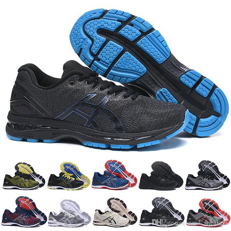 009d6abf0 Compre 2019 Nuevo GEL Nimbus 20 Estabilidad Zapatillas Para Hombre ...