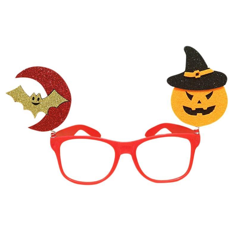 3ca16272550d8 2019 Halloween Glasses Pumpkin Bat Ghost Tricky Eyewear Party Costume Prank  Props Fun Decor Accessories Kids Gift W15 From Ericgordon