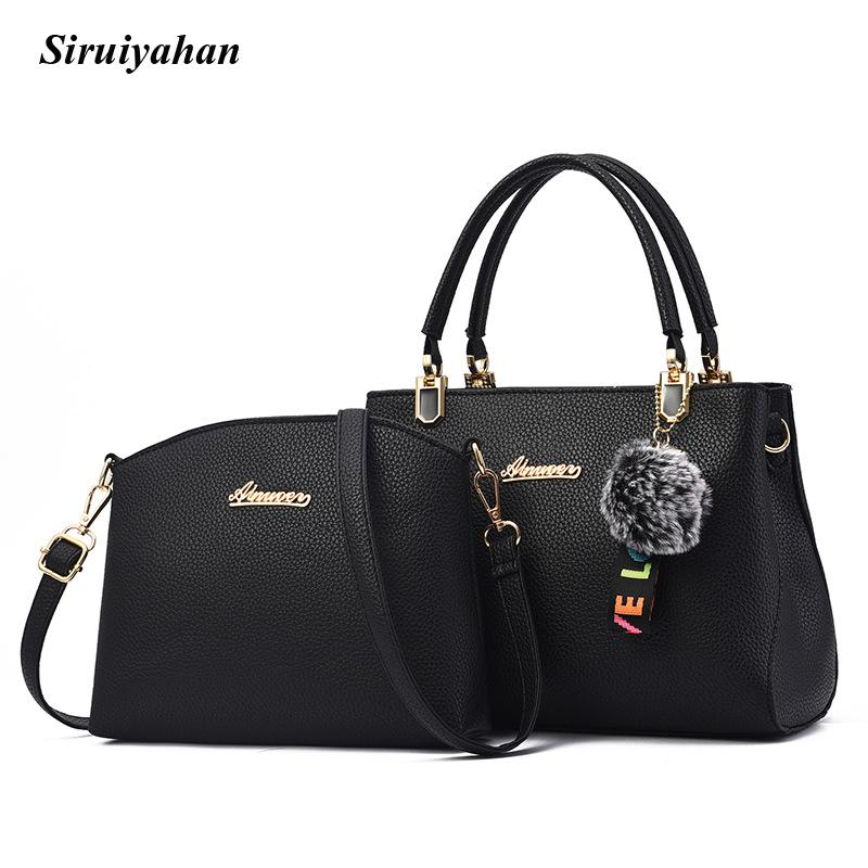 40da5d9345be Siruiyahan Handbag Women Messenger Bags Casual Leather Shoulder Bag ...