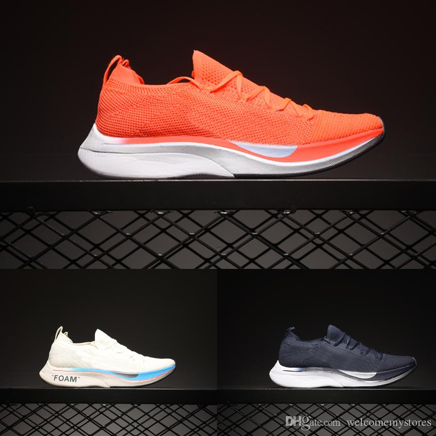 43e5b1b28 2019 2019 Vaporfly Marathon Fly Running Shoes Breathable Women Men Knit 4%  Original Designer Sneakers Size 36 45 From Welcomemystores, $101.53 |  DHgate.Com