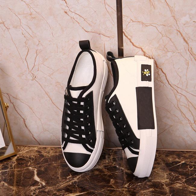 Letters Technical Canvas honeybee LOW Sneakers in Oblique Mens Designer Shoes Womens Fashion B22 B23 B24 B01 B02 Sneakers Shoes 35-45 rt7
