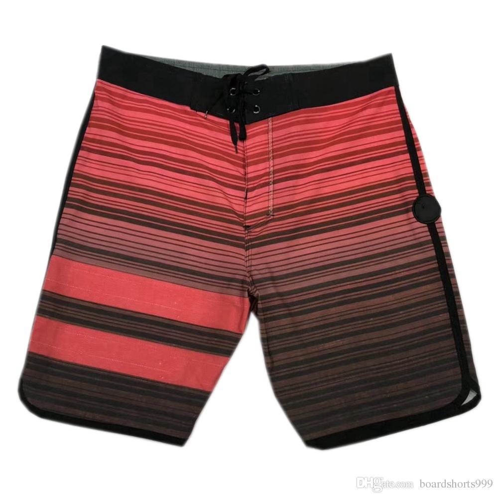 070b7001b06bd 2019 Fashion 4Way Stretch Boardshorts Mens Elastane Spandex Beachshorts  Quick Dry Swim Trunks Surf Pants Board Shorts Mens Bermuda Shorts SZ30 36  From ...