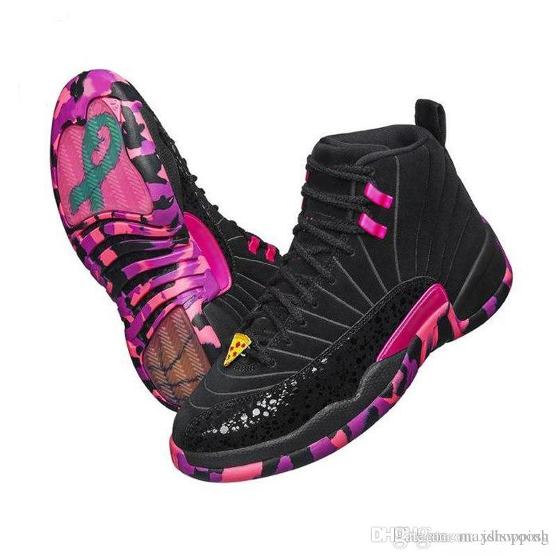 459279081f9ab7 2019 12 12s Doernbecher Men Basketball Shoes 12s DB Carissa Hyper Violet  Black Purple Sneakers With Shoes Box XZ112 From Maxshopping