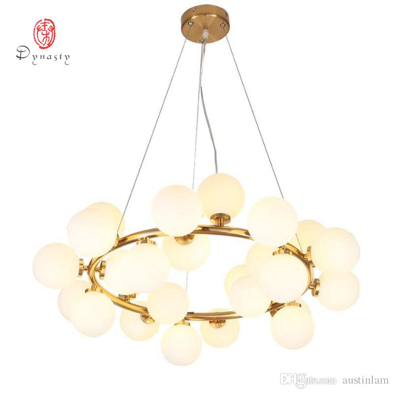 Art Decorative LED Bubble Pendant Lamp Hanging Lights Golden G4 Hotel  Restaurant Lounge Loft Foyer Lobby Modern Fashion Lights Pendant Ceiling  Light Ceiling ...