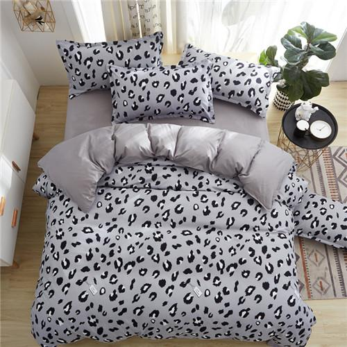 New Modern Minimalist Handmade Flower 4pcs Bedding Sets 6 Size Twin Full Queen King Duvet Cover Sets  free shipping
