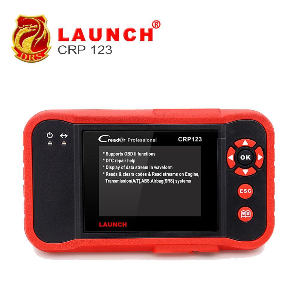 LAUNCH Creader CRP123 Car Diagnostic Tool OBD2 Scanner ABS, SRS,  Transmission and Engine Code Scanner Support for Multi Brand